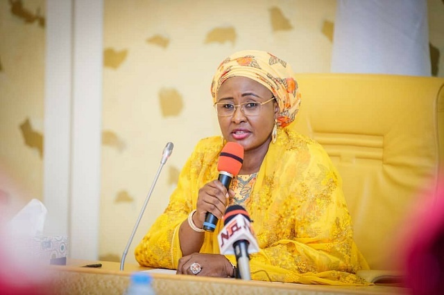 Breaking: First Lady of Nigeria, Aisha Buhari Returns to Nigeria after Months in Dubai
