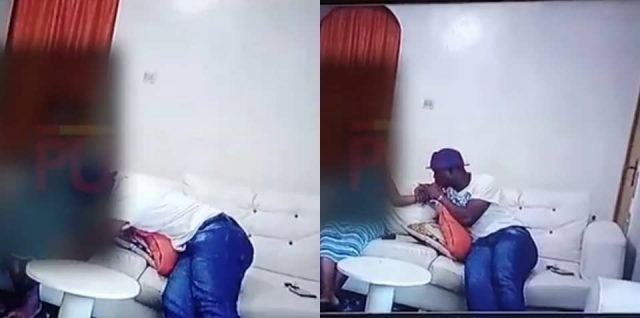 The Moment Baba Ijesha Was Caught On CCTV Molesting His 14-Year-Old Victim [Video]