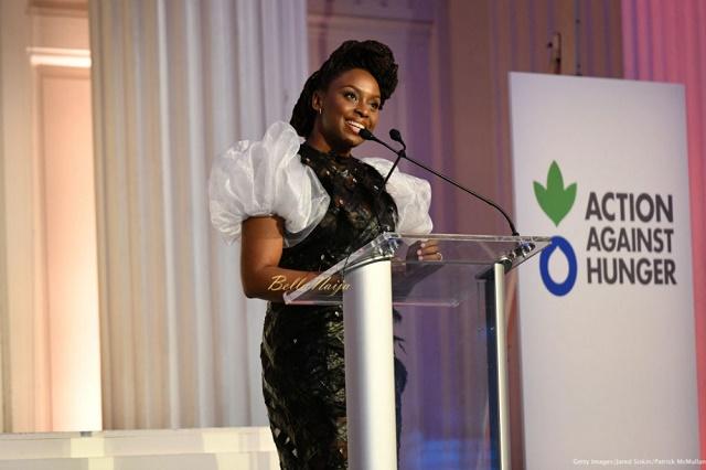 Nigerian Feminist, Chimamanda Adichie Bags Humanitarian Award [Photos]