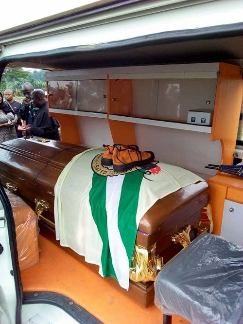 Tears Flows Like A River As NYSC Member Who Drowned In Rivers State Was Buried [Photos]