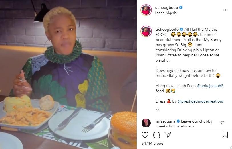Uche Ogbodo child weight