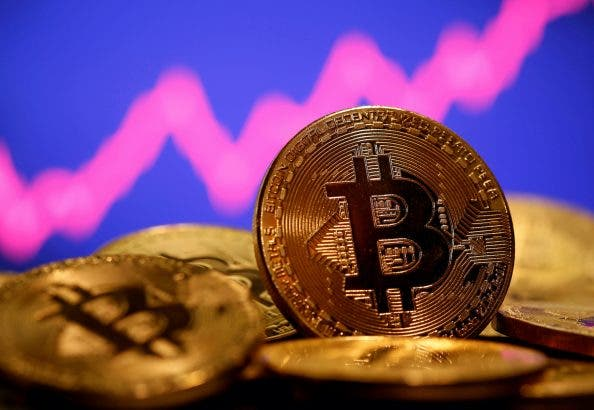 Bitcoin Hits $60,000, Sets New Cryptocurrency Record