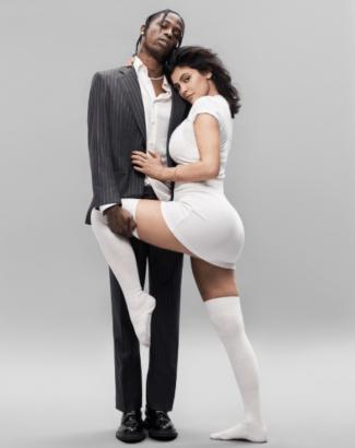 Kylie Jenner and Her Boyfriend Travis Scott Cover GQ Magazine [Photos]