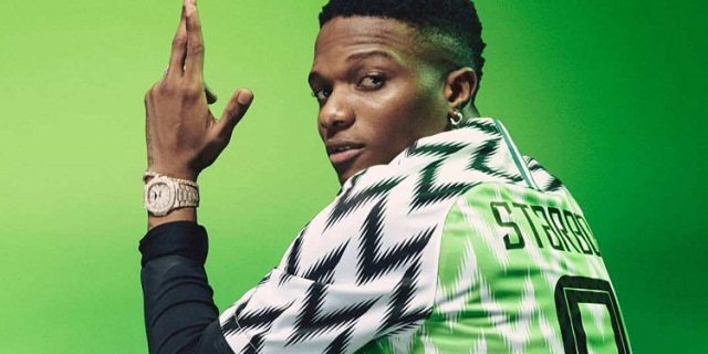 Wizkid Join Hands with Nike to Design New Super Eagles Shirt [Photos]