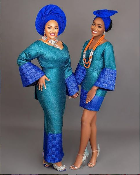 Mercy Aigbe Daughter Michelle Birthday