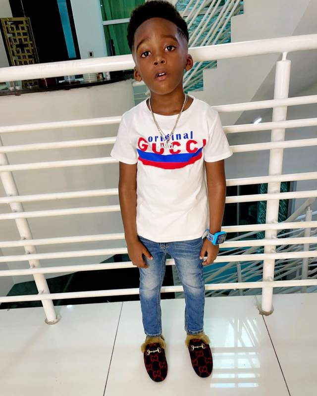 Davido's daughter and Tiwa Savage's son reveal their fondest memories of late Obama DMW (Video) jamil