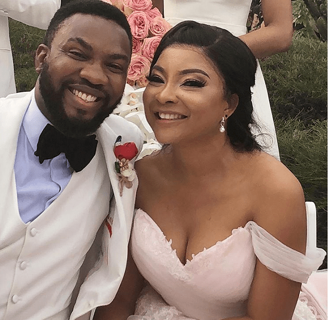 More Photos from Linda Ejiofor and Husband Ibrahim Suleiman's White Wedding in Lagos