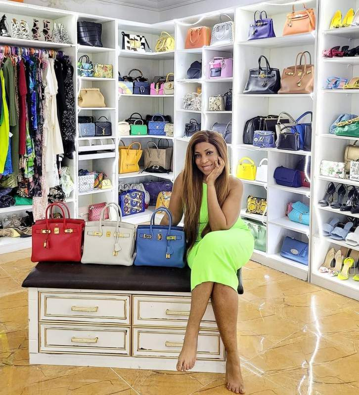 Linda Ikeji acquires three designer bags worth N30M, shows off other collections