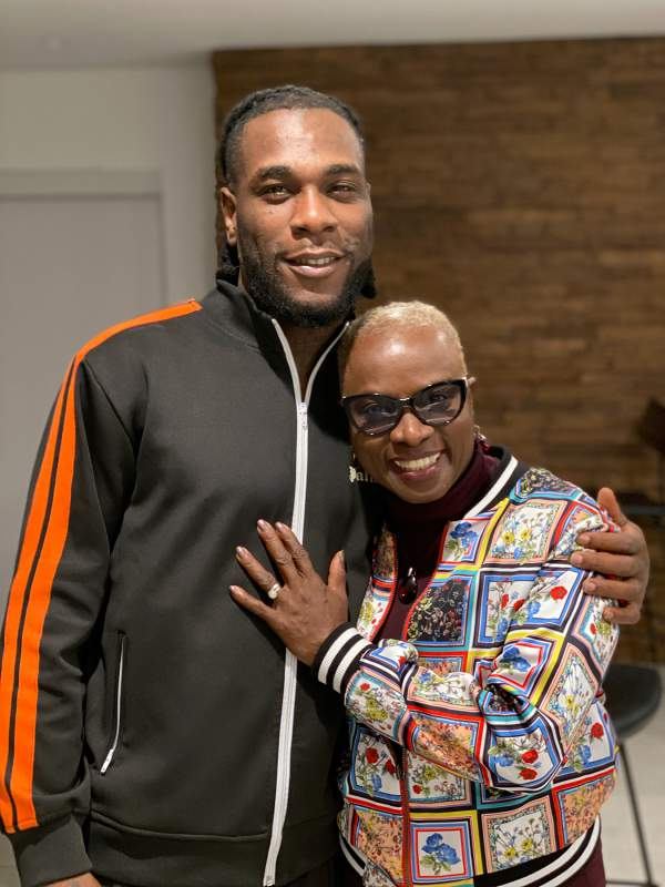 """""""Sorry for you if you don't like it"""" - Angelique Kidjo defends Burna Boy's supposed 'attitude' (Video)"""