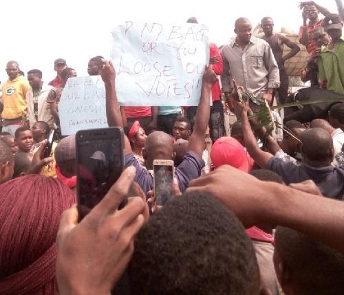 Serious Protests In Benue Against Fulani Herdsmen Killings [Photos]